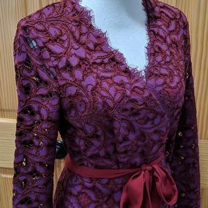 DVF Shaelyn Wrap Dress 8
